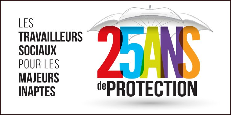 Logo « 25 ans de protection »